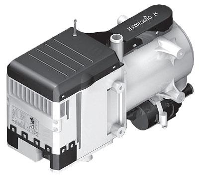 Подогреватель двигателя ГИДРОНИК M-II D12W 24V без монтажного комплекта