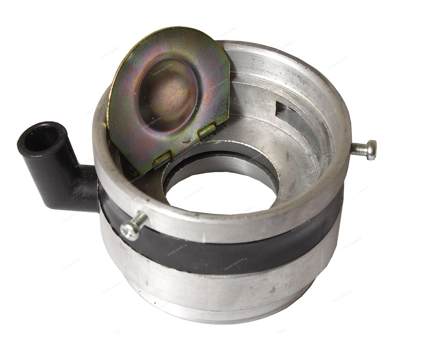 Смеситель и антихлопковый клапан для инжекторного двигателя ВОЛГА