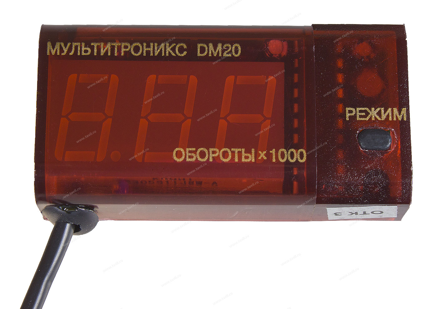 Тахометр-вольтметр Multitronics DM-20