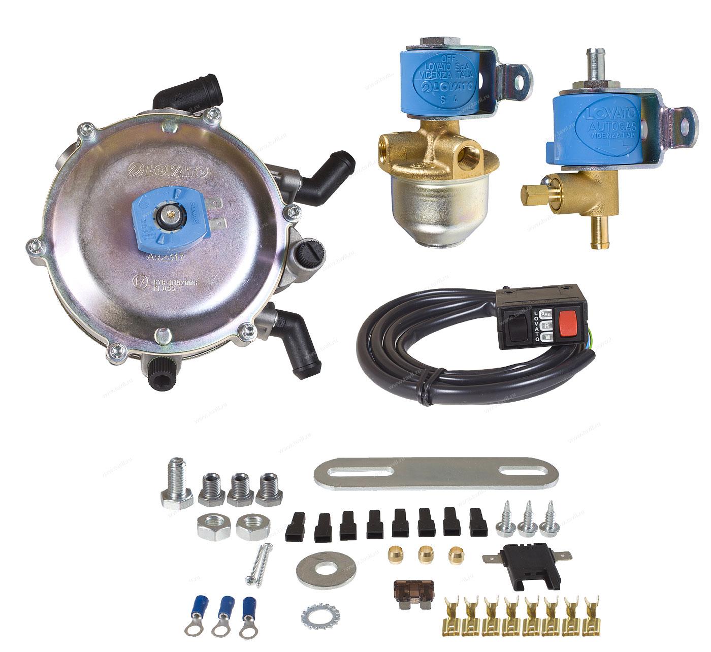 газовое оборудование на авто lovato инструкция