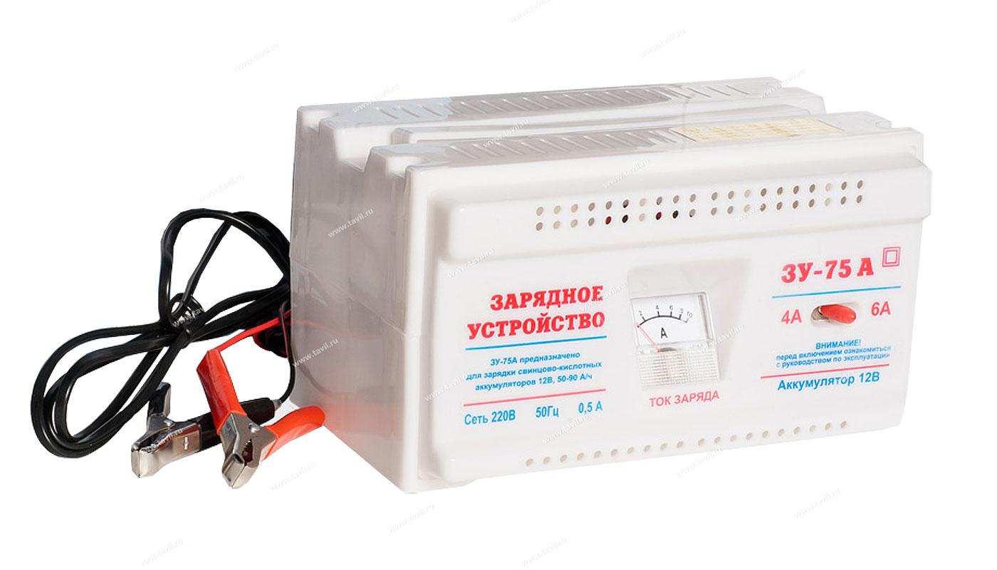 Устройства инструкция зу-75 зарядного для