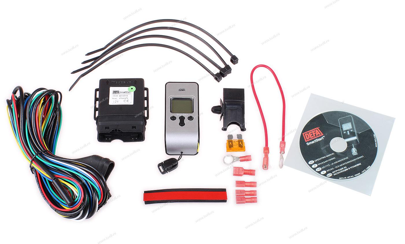 инструкция по применению дистанционного пульта пускового подогревателя авто