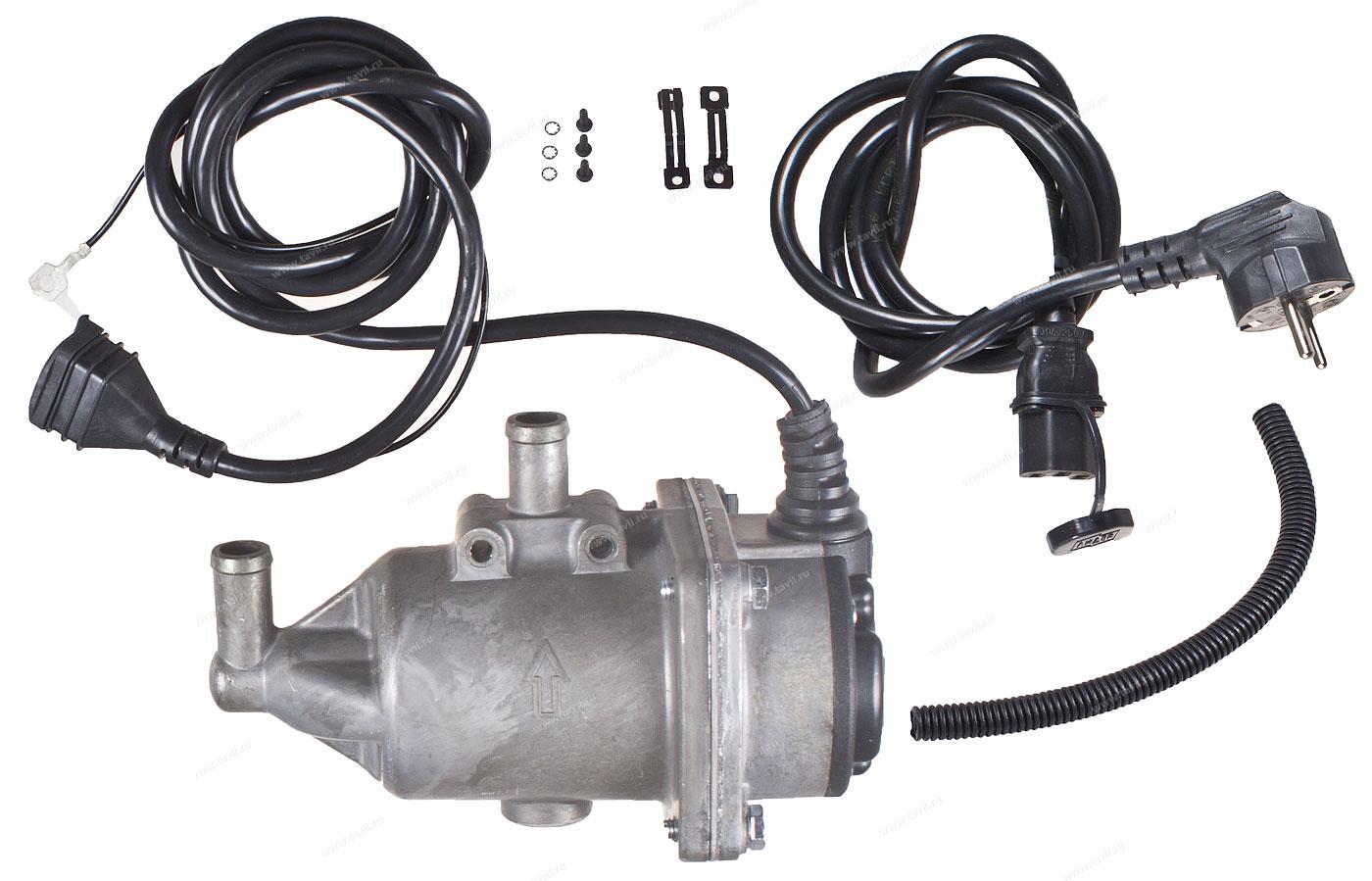 Подогреватель двигателя 220В: устройство и установка